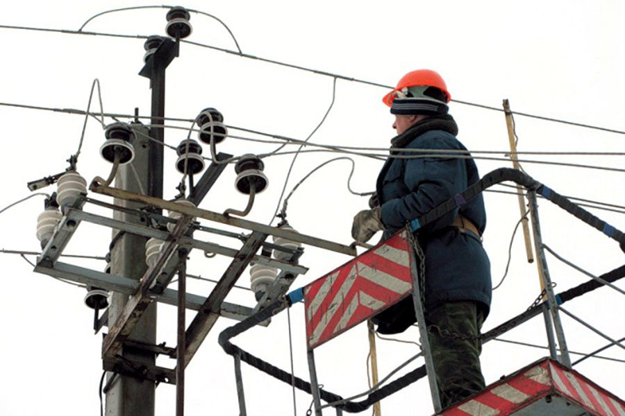 повреждение электросети