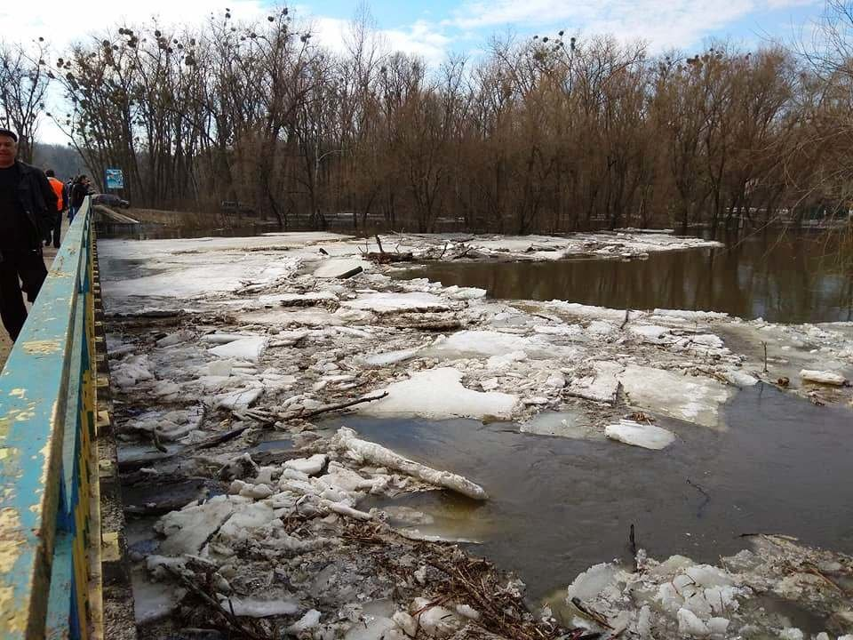 ледоход на Псле