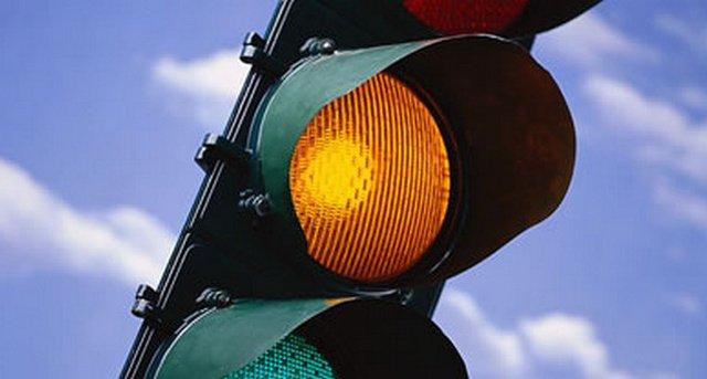 жёлтый сигнал