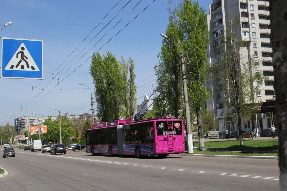 новые троллейбусы Кременчуга