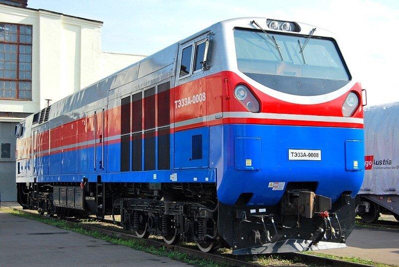 Локомотив TE33A серии Evolution