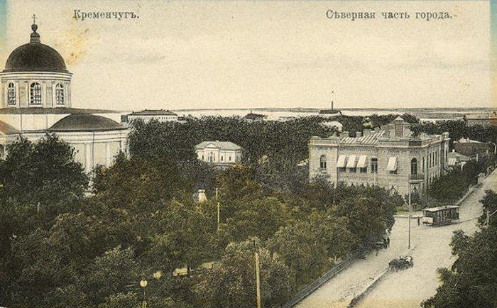 строительство собора в Кременчуге