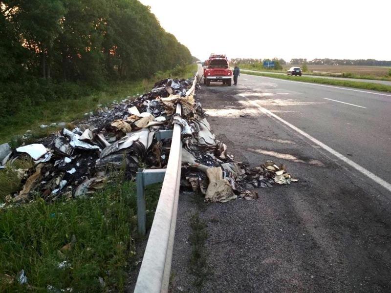 мусор на дороге