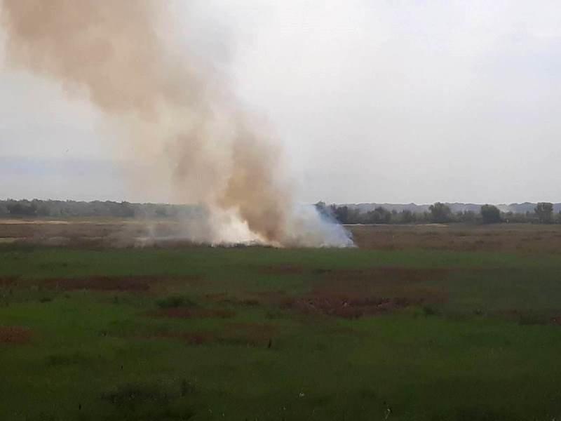 пожар в ставке-испарителе