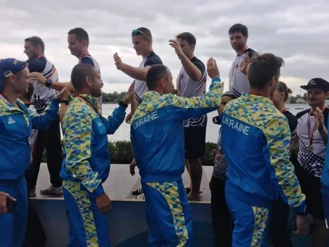 Кременчуцькі веслувальники