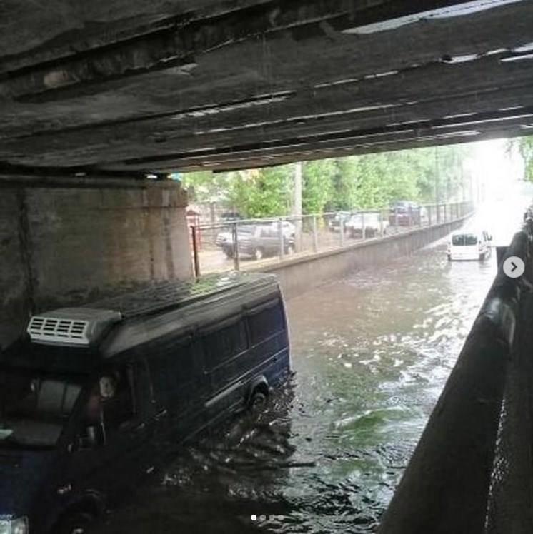 Затопило Кременчуг