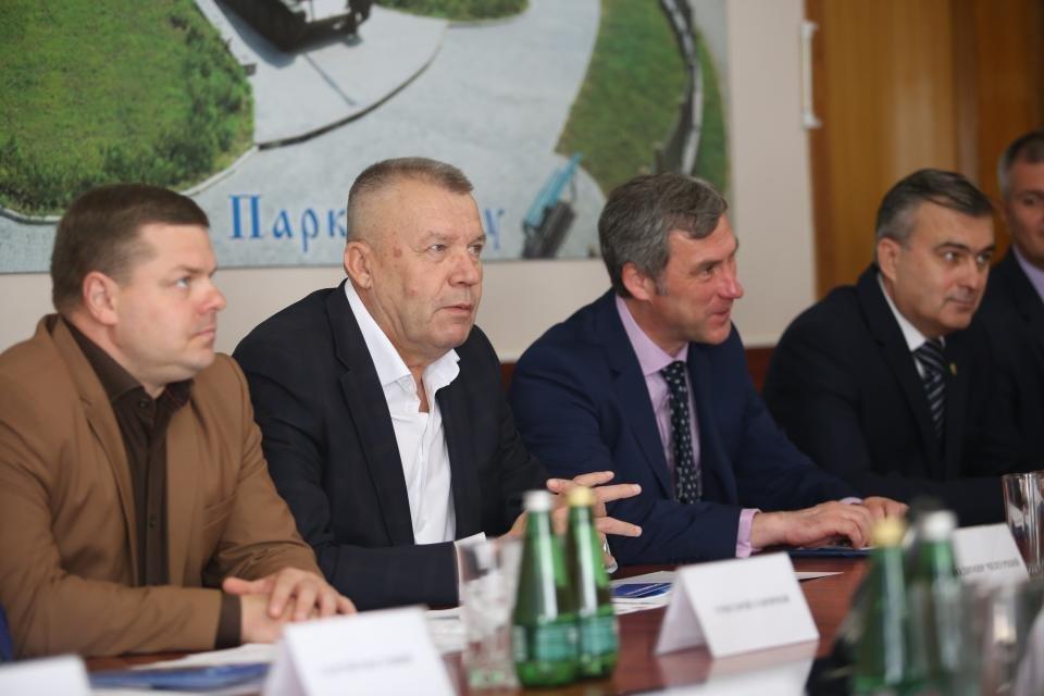 Визит министра-советника Литовской республики