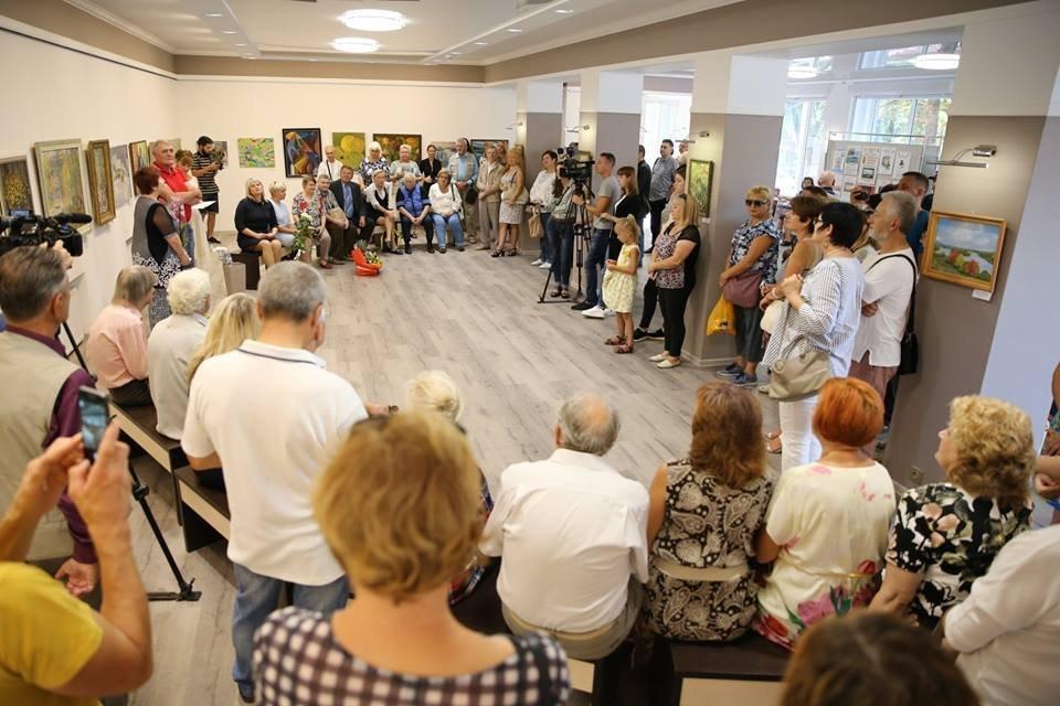 Открітие художественной галереи в Кременчуге
