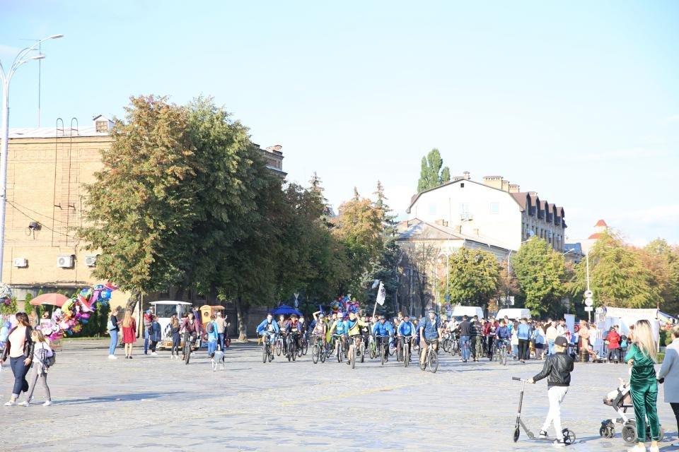 велопарад в Кременчуге