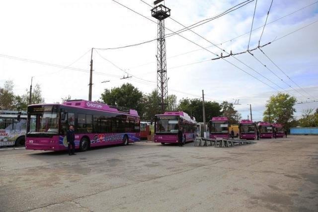 новые тролейбусы