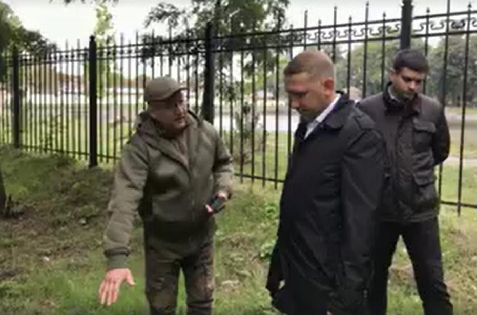 """Виїзна комісія вирішила: біля """"Міського саду"""" облаштують майданчик для вигулу домашніх тварин, фото-3"""