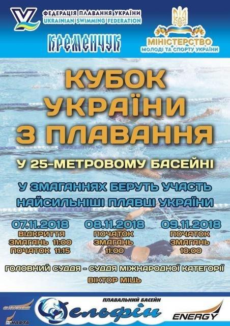 Кубок України з плавання