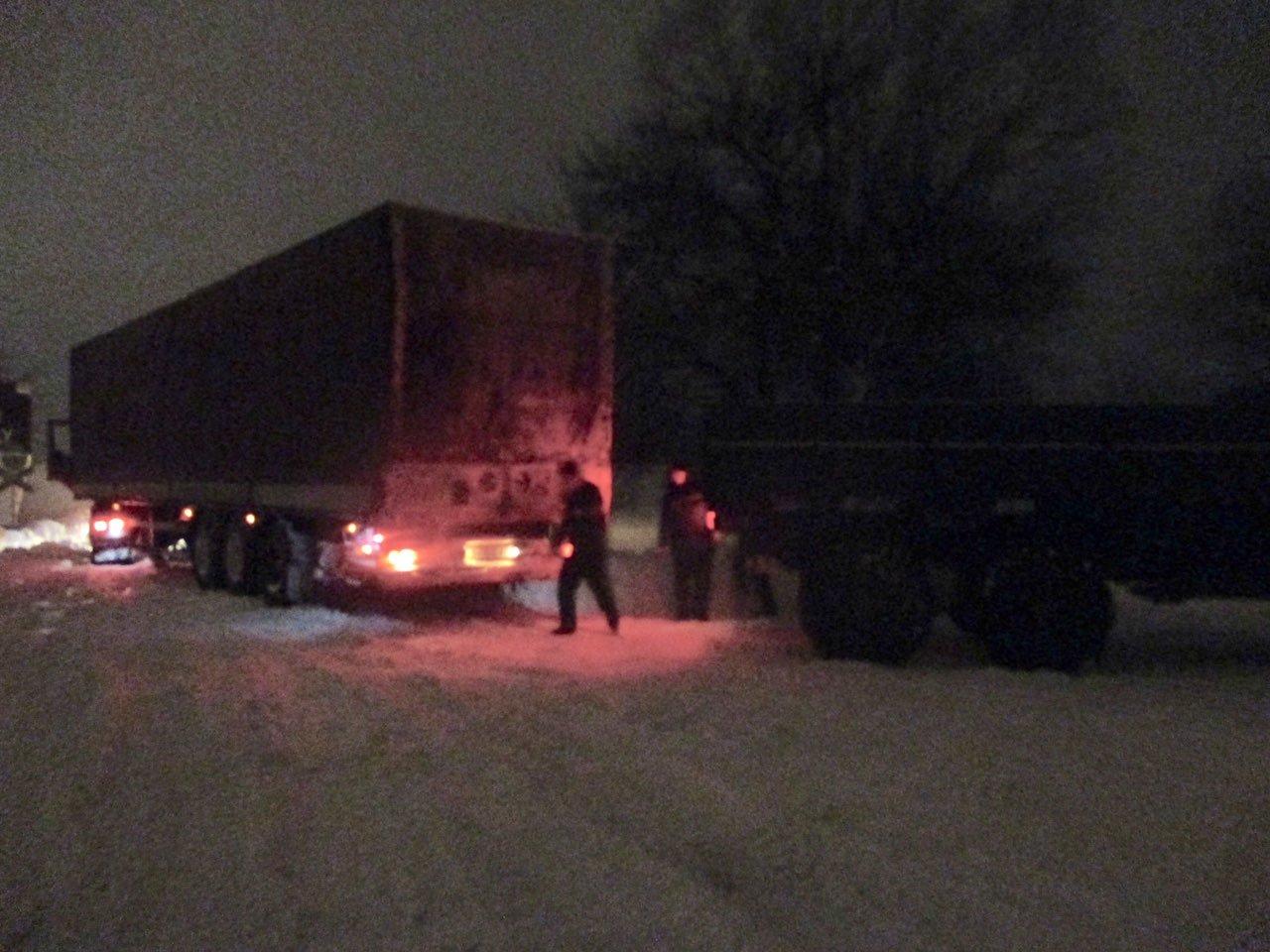 буксирование грузовиков