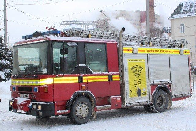 шотландские пожарные автомобили