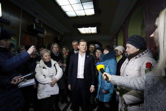 Візит Олега Ляшка до Кременчука