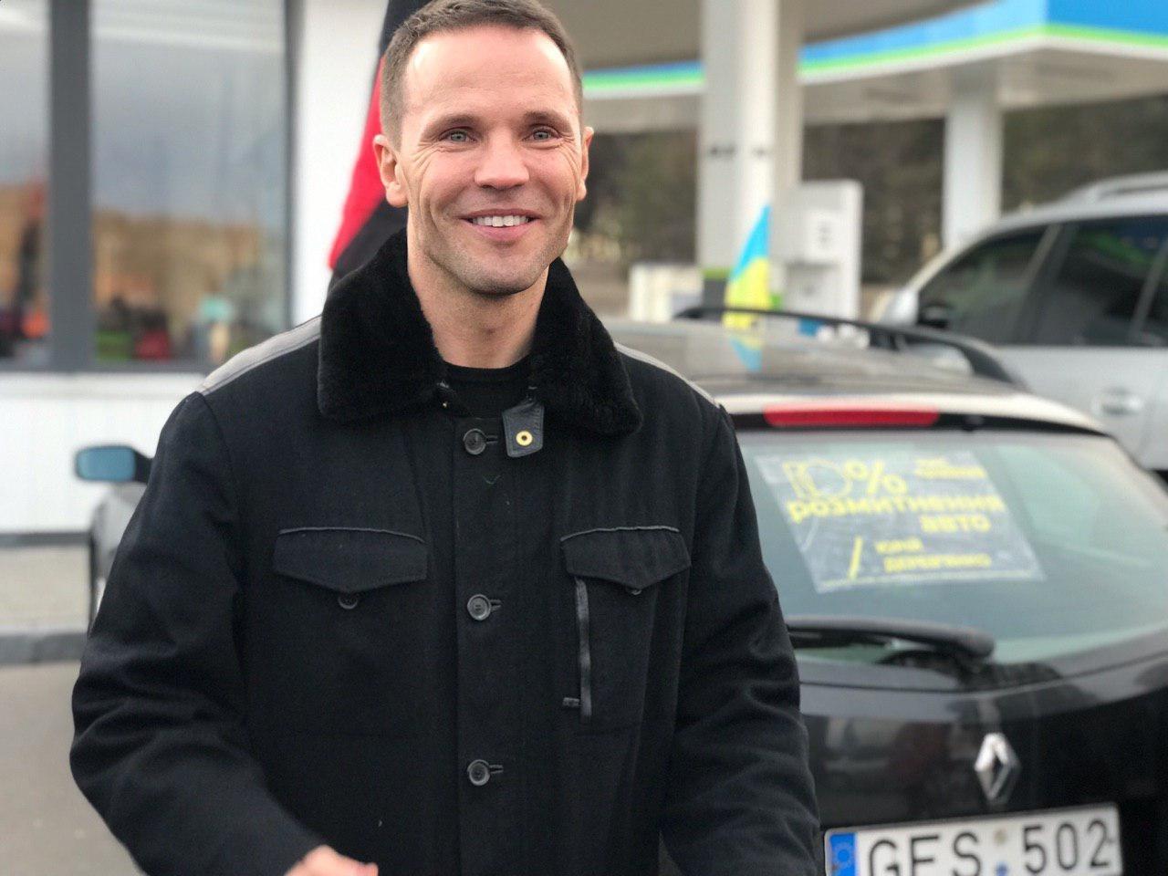 Юрій Дерев'янко взяв участь в автопробігу за доступні авто в Кременчуці (ФОТО, ВІДЕО), фото-1