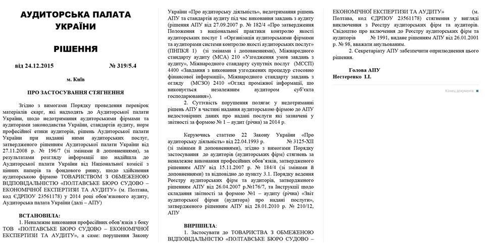 """Ні тендеру, ні ліцензії у аудиторів: як Полтавське Управління ЖКГ все """"порішало"""", фото-1"""