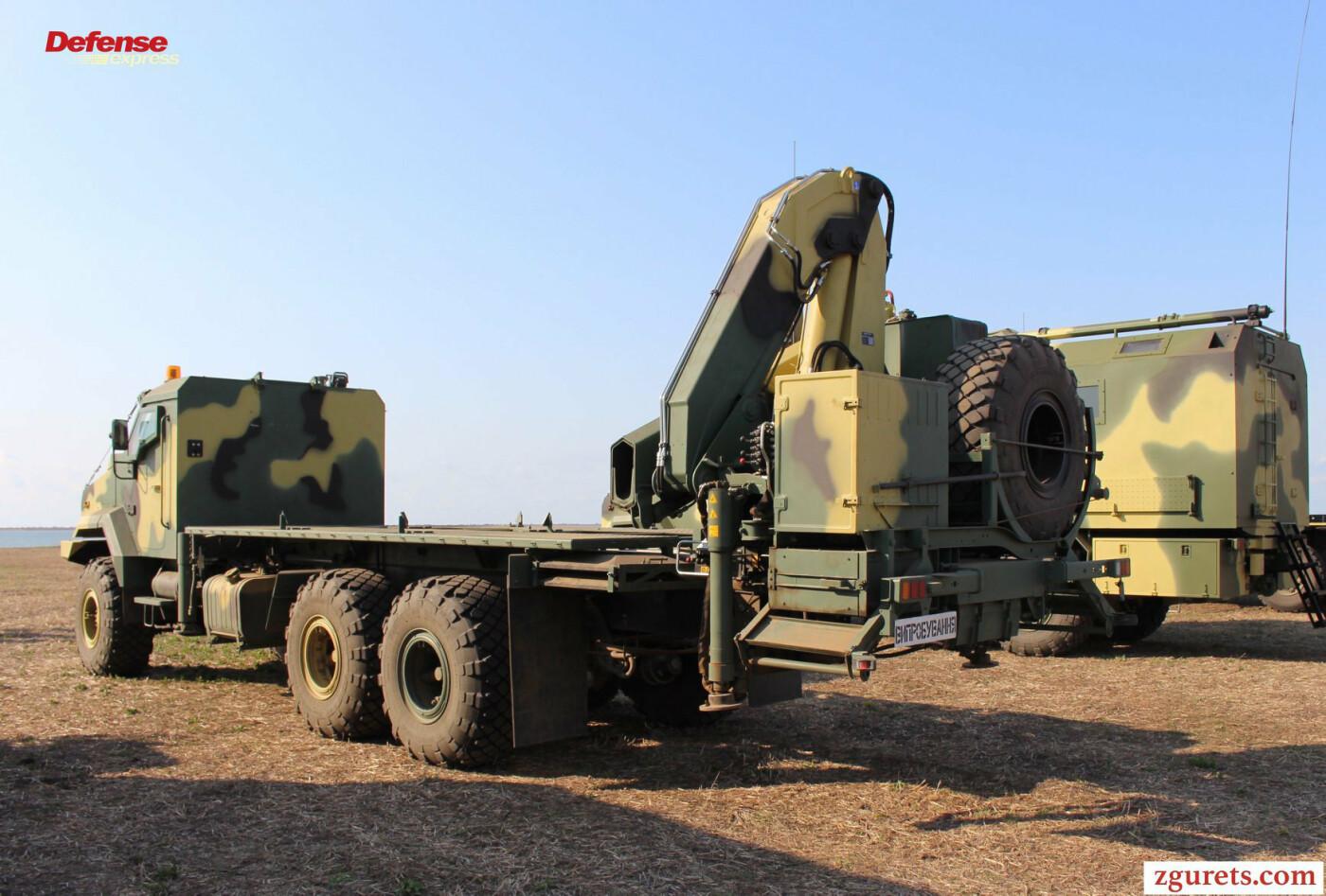 Украинский ракетный комплекс «Нептун» базируется на шасси КрАЗ (ФОТО), фото-1