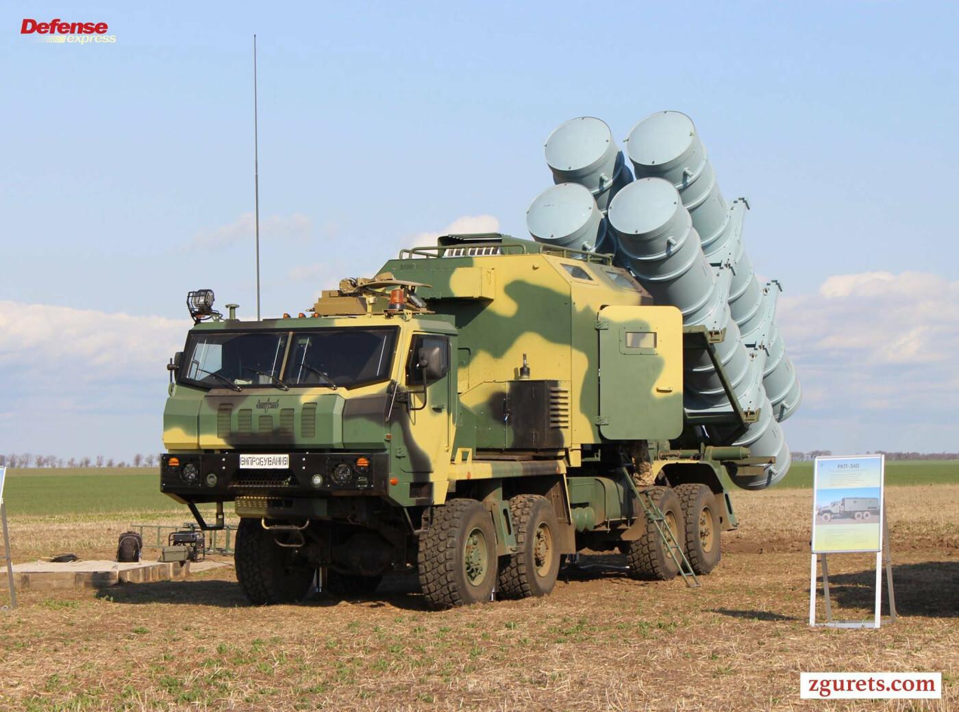 Украинский ракетный комплекс «Нептун» базируется на шасси КрАЗ (ФОТО), фото-6