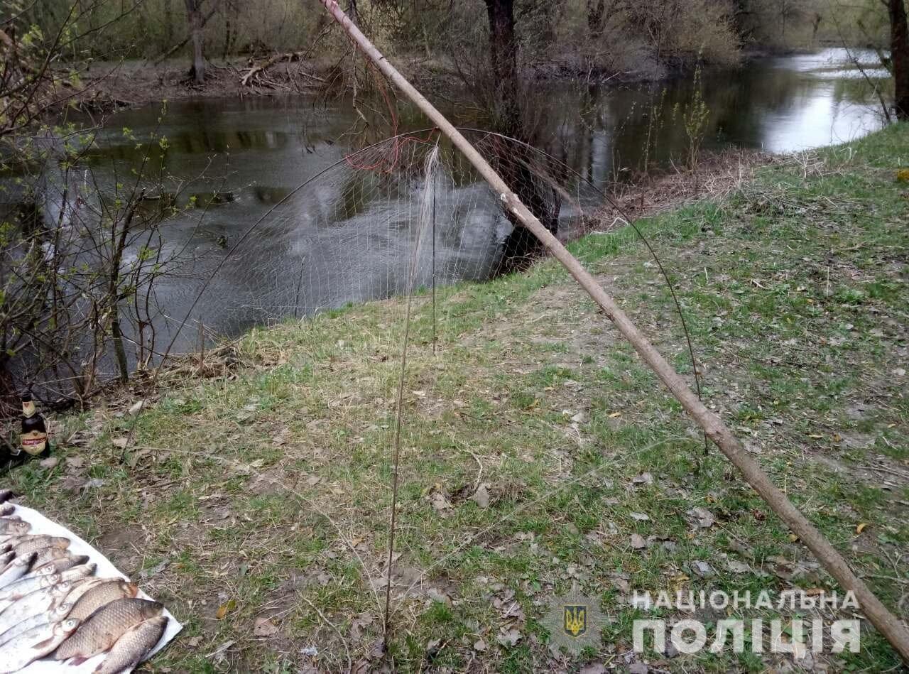 На Полтавщині щодо рибалки-порушника відкрито кримінальне провадження, фото-1